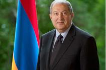 Նախագահ Արմեն Սարգսյանը շնորհավորել է Վլադիմիր Զելենսկիին՝ պաշտոնը ստանձնելու կապակցությամբ