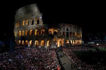 Сон гладиатора под ареной Колизея (Видео)