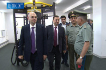 43 million AMD worth exercise equipment donated to Armenia's two military universities (video)