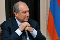 Президент Армен Саркисян примет участие в Евразийском медиа-форуме