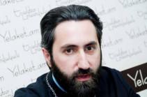 Недоумеваем в связи с тем, как был определен приоритет Лусаворича перед Маштоцем – иерей Асохик Карапетян