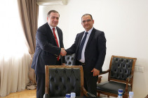 Armenia's Minister Khachatryan, Georgian Ambassador discuss opportunities of boosting economic cooperation