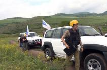 Անցկացվել է հայ-ադրբեջանական սահմանագոտու հերթական դիտարկումը