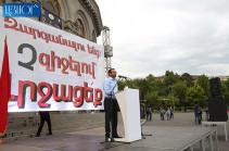 Мы не позволим, чтобы в стране было мнение одного человека – Гегам Манукян