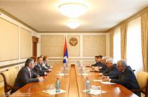 Բակո Սահակյանն ու Հրայր Թովմասյանը քննարկել են դատական ոլորտում համագործակցության հարցեր