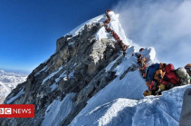 Three more die on Everest amid overcrowding near summit