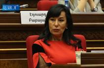 Наира Зограбян вспомнила о Новгородском вече и политической гильотине на парламентских слушаниях об инструментах переходного правосудия