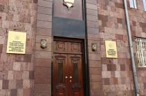 Специальная следственная служба отказалась возбудить уголовное дело против СНБ на основании заявления Артура Сакунца и Даниела Иоаннисяна