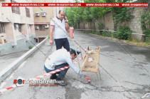Վճռաբեկ դատարանի բակում ծեծել են դատական դեպարտամենտի աշխատակազմի կառավարման վարչության պետին