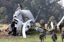 В Мексике разбился вертолет Ми-17