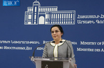 Toleration of racist targeting of Armenians in Azerbaijan makes Mkhitaryan's travel to Baku: MFA spokesperson comments to CNN