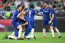 Chelsea secure the Europa League title amid eerie atmosphere in Baku