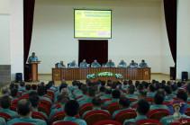 Արցախում անցկացվել է ռազմական խորհրդի նիստ