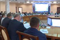 ՊՆ վարչական համալիրում անցկացվել է հայ-ռուսական միջկառավարական հանձնաժողովի նիստ