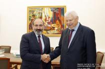 Armenia's PM, OSCE CiO personal representative discuss Karabakh conflict settlement process
