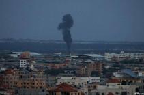 Իսրայելն, ի պատասխան հրթիռակոծման, գրոհել է Գազայի հատվածում ՀԱՄԱՍ-ի ռազմական օբյեկտները