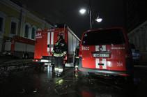 Մոսկվայի կենտրոնում պատմական շինություն է այրվում (տեսանյութ)