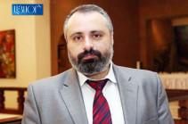 Artsakh hopes for positive impact of Mnatsakanyan-Mammadyarov meeting: Davit Babayan