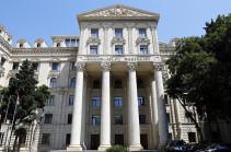 «Քանի դեռ ՀՀ զինված ուժերը շարունակում են մնալ Ադրբեջանի տարածքներում, բանակցությունների ոչ մի հիմնական մաս լինել չի կարող». Ադրբեջանի ԱԳՆ