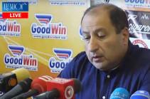 Айк Алумян представил сообщение генеральному прокурору