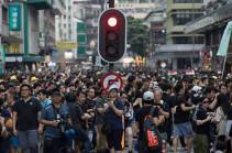 Демонстранты разблокировали движение транспорта в центре Гонконга