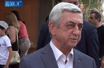 Серж Саргсян: Федерация шахмат Армении полноценно действует