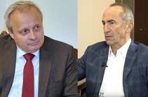 Посол России вызван в МИД Армении после встречи с экс-президентом страны Кочаряном