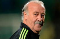 Vicente del Bosque is in Armenia (photos)