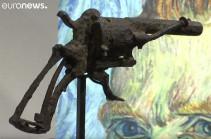Револьвер Ван Гога выставят на торги (Видео)