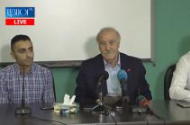 Վիսենտե դել Բոսկեն Երևանում է. Հանդիպում է լրագրողների հետ (Տեսանյութ)