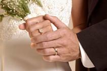 Հայաստանում ամուսնություններն աճել են, ամուսնալուծությունները՝ նվազել