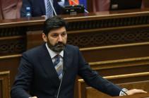Vahe Grigoryan elected judge of Constitutional Court