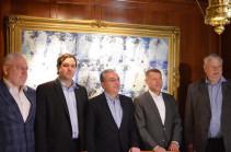 Զոհրաբ Մնացականյանը հանդիպել է ԵԱՀԿ Մինսկի խմբի համանախագահների հետ