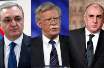 Assistant to the U.S. President for National Security Affairs John Bolton to meet with Armenian, Azerbaijani FMs in USA