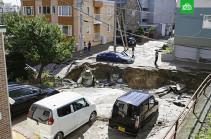 Число пострадавших при землетрясении в Японии возросло до 26