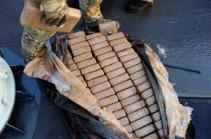 В порту Филадельфии на судне изъяли 16,5 тонны кокаина