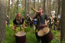 Չեխական անտառում անցկացվել է «հինգ զորքերի» ճակատամարտ (տեսանյութ)