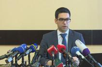 Rustam Badasyan Armenia's new justice minister