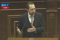 В парламенте обсуждается кандидатура члена Высшего судебного совета