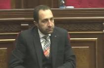 Григор Бекмезян избран членом Высшего судебного совета