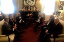 В Вашингтоне стартовала встреча министров иностранных дел Армении и Азербайджана