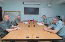Հայաստան են այցելել Բելառուսի զինված ուժերի ներկայացուցիչները