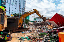 Cambodia: Seven-storey building collapses in Sihanoukville