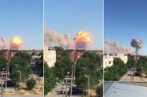 Ղազախստանում զորամասի պահեստում պայթյուն է որոտացել
