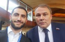 Глава армянской делегации свалил на технические причины свое голосование против возвращения России в ПАСЕ