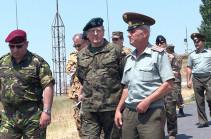 Ռազմական կցորդներն այցելել են ՀՕՊ զորամաս