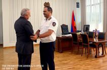 Արթուր Դավթյանն ընդունել է ՀՀ-ում ՌԴ դեսպան Սերգեյ Կոպիրկինին