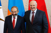 Armenia's PM holds phone conversation with president of Belarus