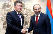 Nikol Pashinyan holds phone conversation with Sooronbay Jeenbekov