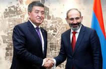 Nikol Pashinyan holds phone conversation with Sooronbay Jeenbekov